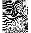 expressive lines drawn ink hand pattern vector image