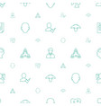 profile icons pattern seamless white background vector image vector image
