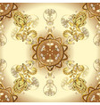 traditional orient ornament round ormanental vector image