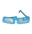 cartoon smart glasses wearable device vector image