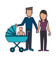family avatar concept vector image