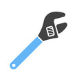 monkey wrench vector image