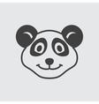Panda icon vector image