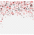 Romantic heart background for vector image vector image