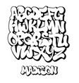 Street graffiti font handwritten typography