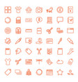 49 template icons vector image vector image