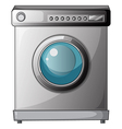 A washing machine vector image