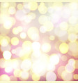 Abstract background with colorful defocused bokeh vector image