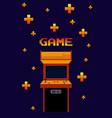 arcage vintage game vector image