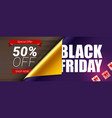 Black friday sale special offer 50 percent off