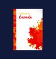 foldera4 canada vector image