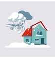 Hurricane Insurance vector image