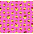 Money and Emoticons Seamless Pattern vector image vector image