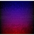 Red blue and purple pixelated digital background vector image vector image