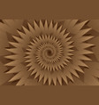 star brown abstract background vector image