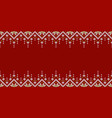 ugly christmas sweater party template with place vector image