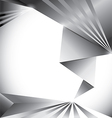 white abstract background vector image vector image