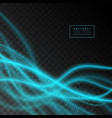 abstract shiny light effect texture on transparent vector image