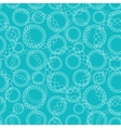 Blue Abstract Seamless Pattern vector image vector image