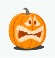 color cartoon halloween vector image