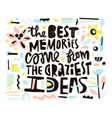 cutout paper quote vector image