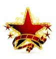 Movie stars vector image vector image