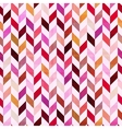 seamless geometric chevron pattern vector image vector image