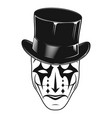 theatrical mask 15 vector image