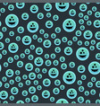 cartoon spooky ghost character scary holiday vector image vector image