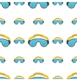 Climbing goggles background vector image vector image