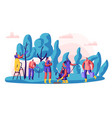 gardener characters at work man and woman vector image vector image