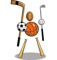 Sports freak thumb vector | Price: 1 Credit (USD $1)