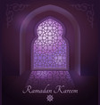 arabic frames on traditional islamic door vector image