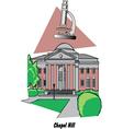 Chapel Hill vector image vector image