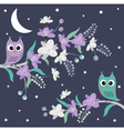 Night Owls vector image vector image