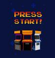 press start arcades