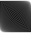 geometric pattern with thin diagonal lines vector image