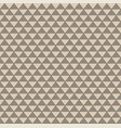 abstract geometric black triangle pattern vector image