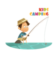 Camping Children Concept vector image vector image