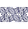 geometric 3d lines abstract seamless pattern vector image vector image