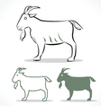 goat 2 vector image vector image
