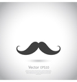 mustache - icon vector image