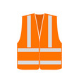 signal vest vector image vector image