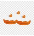 sweet jewish bakery icon cartoon style vector image vector image