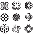 vintage symbol vector image vector image