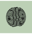 ball of yarn design vector image