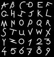 Decorative alphabet set vector image vector image
