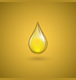 drop of oil vector image