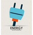 energy icon vector image vector image