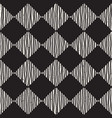hand drawn seamless repeating pattern with checker vector image vector image